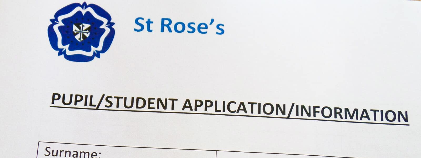 How to apply for st rose's