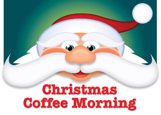 Image result for coffee morning christmas
