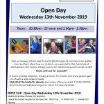 Invitation for Open day November 2019