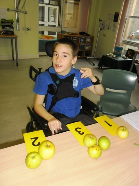 Maths with apples